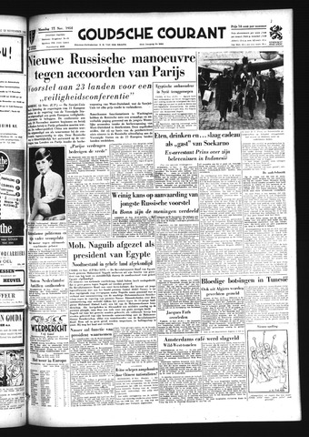 Goudsche Courant 1954-11-15