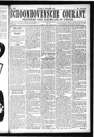 Schoonhovensche Courant 1924-12-19