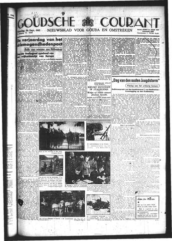 Goudsche Courant 1942-09-28