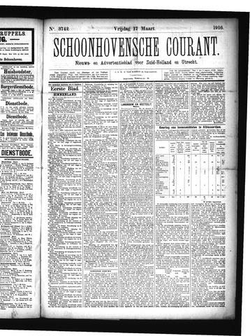 Schoonhovensche Courant 1916-03-17