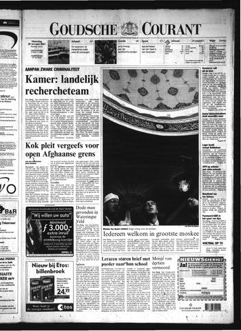 Goudsche Courant 2001-10-29