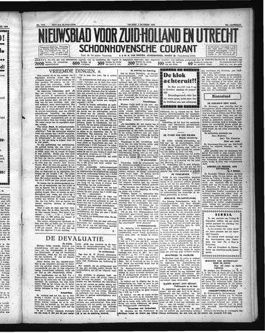 Schoonhovensche Courant 1936-10-02