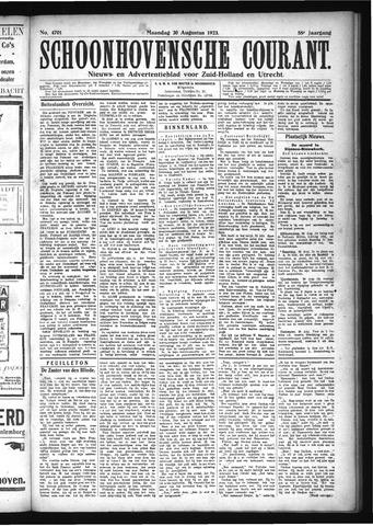 Schoonhovensche Courant 1923-08-20