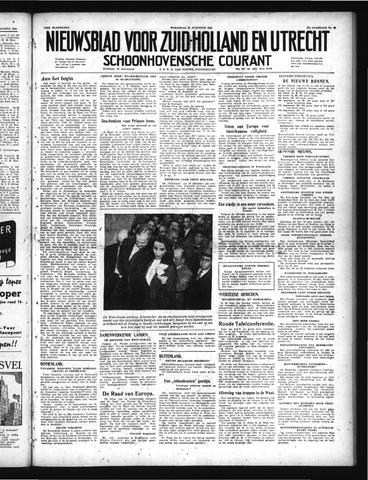 Schoonhovensche Courant 1949-08-10