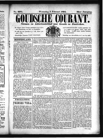 Goudsche Courant 1894-02-07