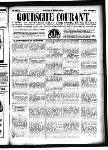Goudsche Courant 1926-03-16