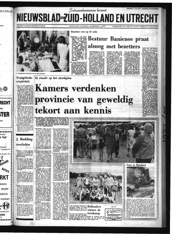 Schoonhovensche Courant 1977-07-11