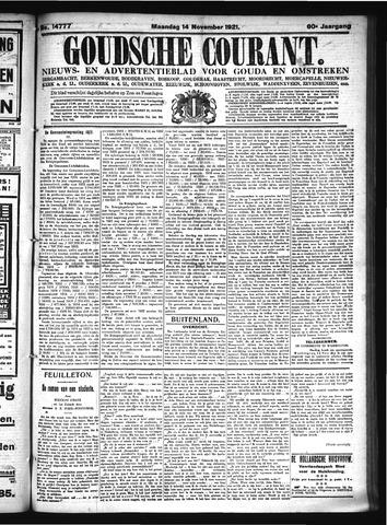 Goudsche Courant 1921-11-14
