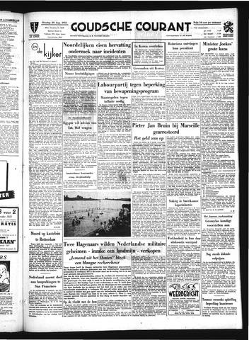 Goudsche Courant 1951-08-28