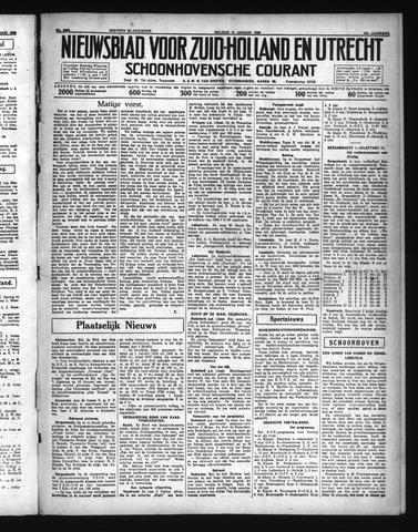 Schoonhovensche Courant 1935-01-11