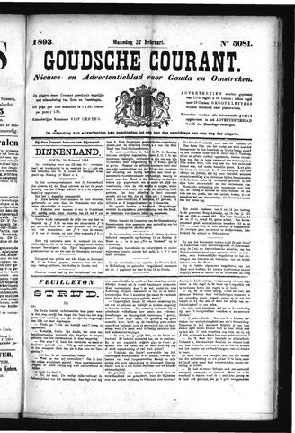 Goudsche Courant 1893-02-27