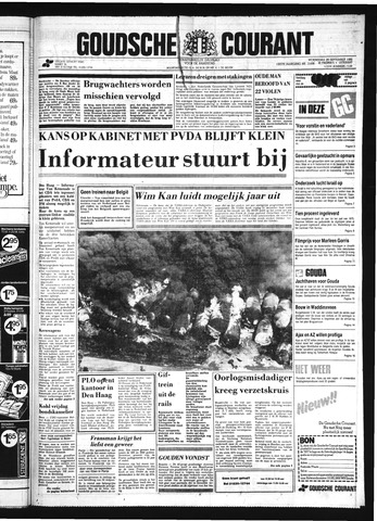 Goudsche Courant 1982-09-29