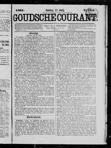 Goudsche Courant 1865-06-11