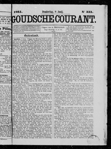 Goudsche Courant 1865-06-08