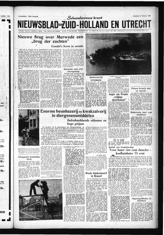 Schoonhovensche Courant 1960-10-10