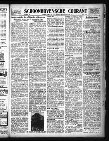 Schoonhovensche Courant 1944-08-22