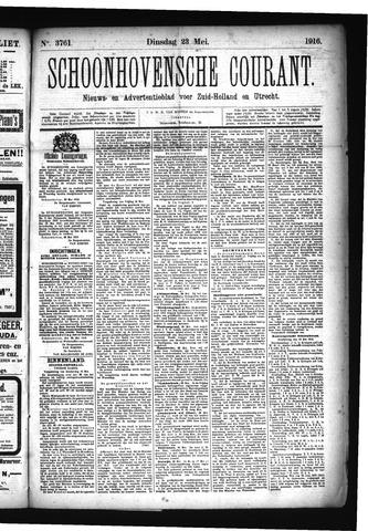 Schoonhovensche Courant 1916-05-23