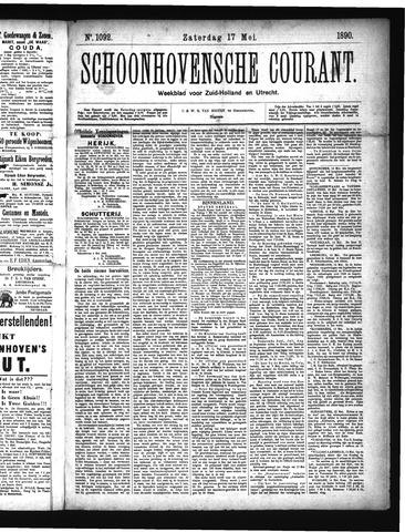 Schoonhovensche Courant 1890-05-17