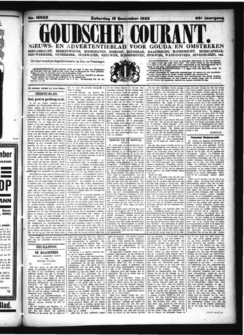 Goudsche Courant 1925-12-19