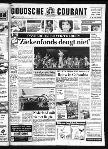 Goudsche Courant 1985-11-09