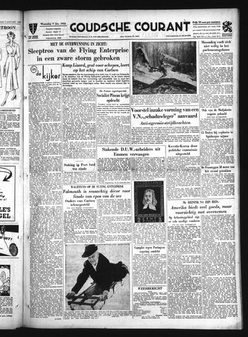 Goudsche Courant 1952-01-09