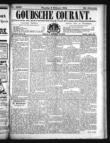 Goudsche Courant 1914-02-09