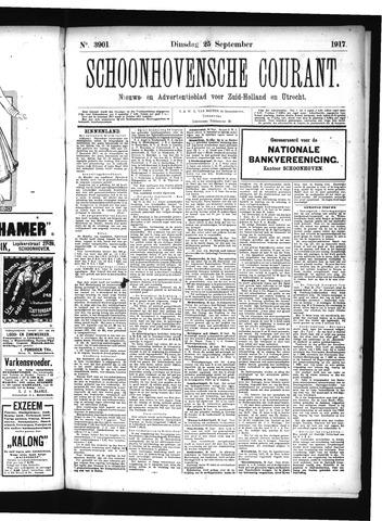 Schoonhovensche Courant 1917-09-25