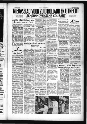Schoonhovensche Courant 1953-09-09