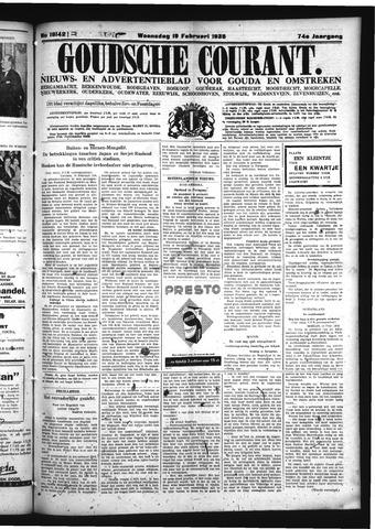 Goudsche Courant 1936-02-19