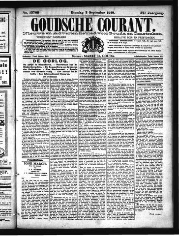 Goudsche Courant 1918-09-03