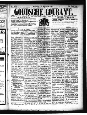 Goudsche Courant 1921-09-22