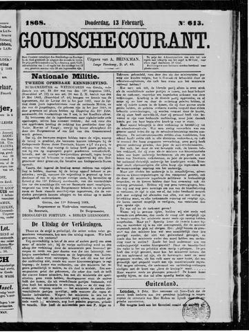Goudsche Courant 1868-02-13