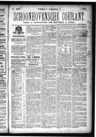 Schoonhovensche Courant 1915-08-06
