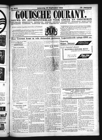 Goudsche Courant 1934-09-22