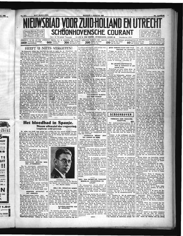 Schoonhovensche Courant 1936-08-03