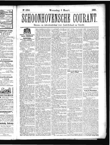 Schoonhovensche Courant 1893-03-08