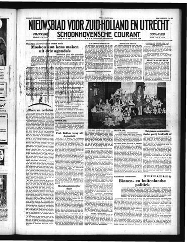 Schoonhovensche Courant 1951-06-01