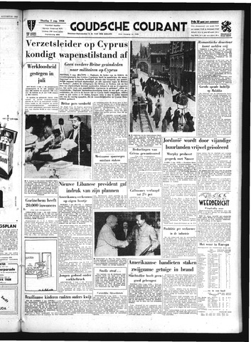 Goudsche Courant 1958-08-05