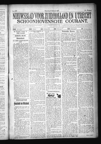 Schoonhovensche Courant 1929-02-27