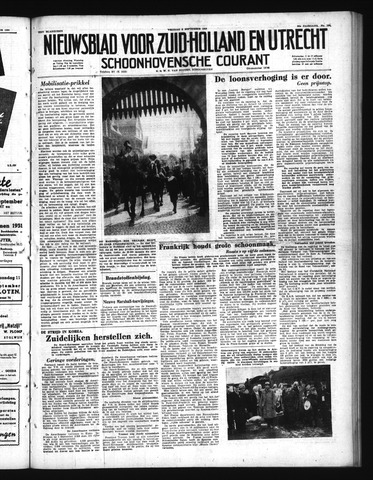 Schoonhovensche Courant 1950-09-08