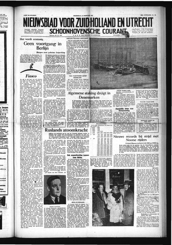 Schoonhovensche Courant 1954-02-10