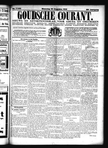 Goudsche Courant 1930-08-25