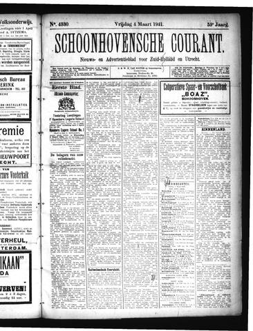Schoonhovensche Courant 1921-03-04