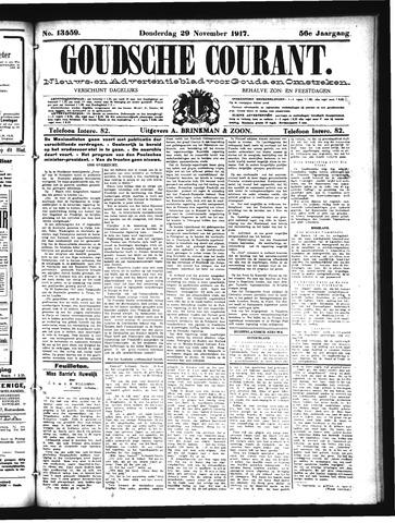 Goudsche Courant 1917-11-29