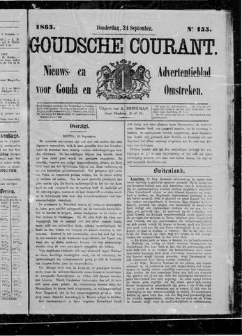 Goudsche Courant 1863-09-24