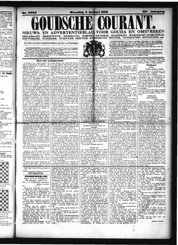 Goudsche Courant 1928-01-09