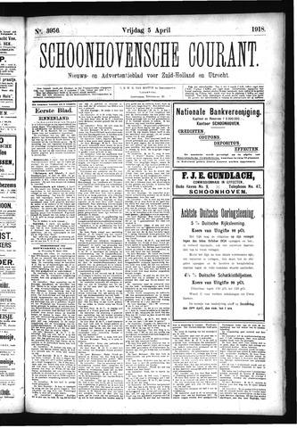 Schoonhovensche Courant 1918-04-05