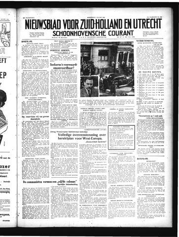 Schoonhovensche Courant 1949-03-09
