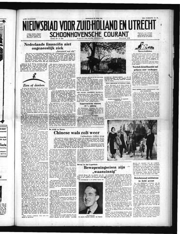 Schoonhovensche Courant 1951-04-25