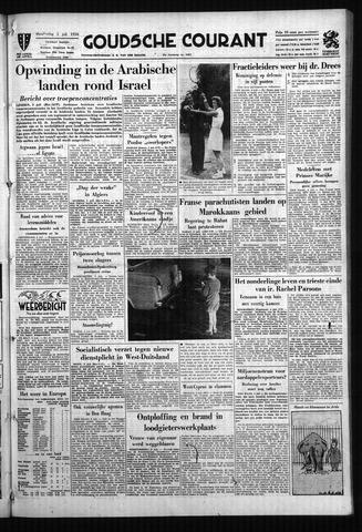 Goudsche Courant 1956-07-05
